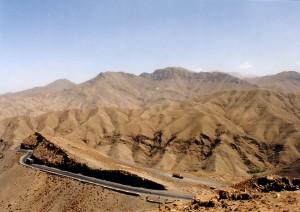 Straße in Marokko
