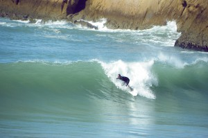 Surfer bei Taghazoute